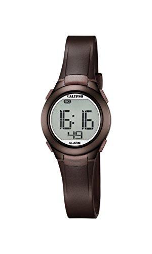 Calypso Unisex Digital Quarz Uhr mit Plastik Armband K5677/6