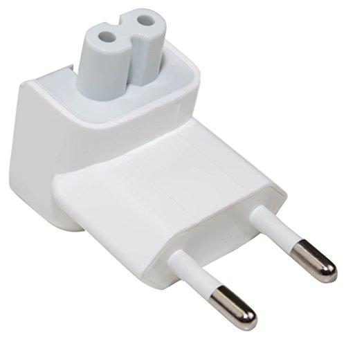 e-port24® EU AC Plug Enchufe Adaptador Cargador Duckhead 2 Pin Power Plug...