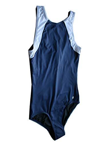 Bogner Fire + Ice Damen Badeanzug Style Madelyn Farbe: Blau/Weiss Gr. S 36 Swimsuit Badeanzug