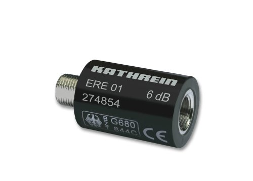 Kathrein ERE 01 Dämpfungsstecker (F-Anschluß) 6 dB