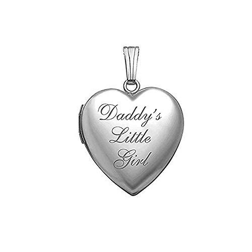 Daddy's Little Girl Heart Locket