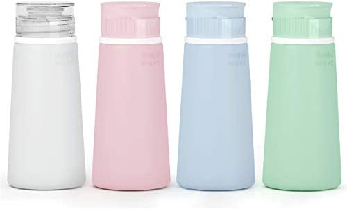 Valourgo Travel Bottles for Toiletries Tsa Approved Travel Size Containers BPA Free Leak Proof product image