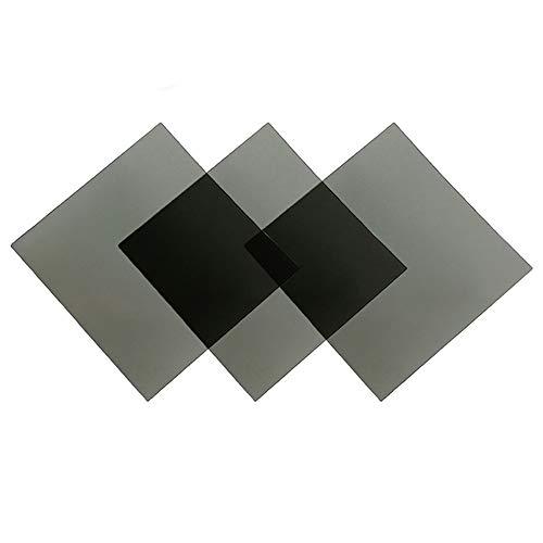 Polarized Film Sheets 7x7inches/18x18cm Adhesive Polarizer Linear Polarizing Filter for Screen Educational Physics