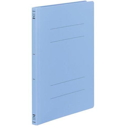 コクヨ フラットファイル<PP> A4縦 青 100冊