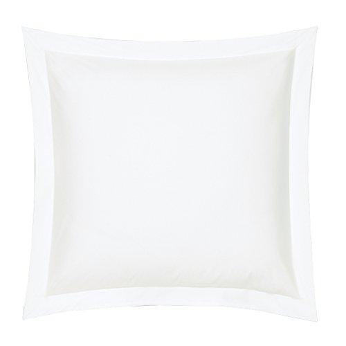 BLANC des Vosges kussensloop, katoen, wit, 65 x 65 cm