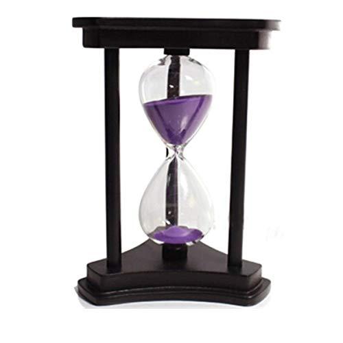 JINSUO NWXZU Sanduhr, Sanduhr Timer, 30 Minuten, 60 Minuten, kreative Geschenk-Dekoration, Geburtstag Praktische Geschenke, schönes Geschenk (Color : C, Size : 30 Minutes)
