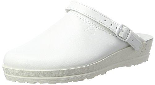 Beck Damen Anna Clogs, Weiß (Weiß 08), 42 EU