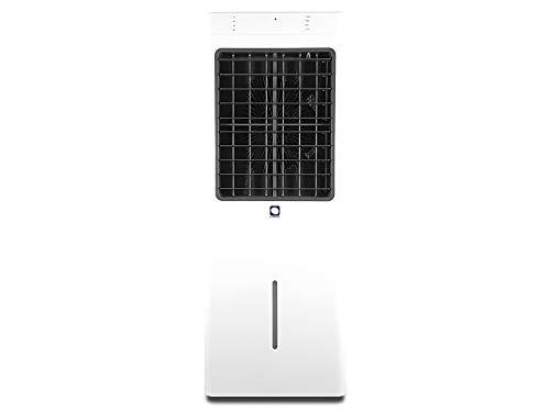 M Confort Elite 14 Climatizador Evaporativo Portátil, 62 Watts, 25 m², 4 Velocidades, Máximo Caudal 1400M³/H, Ventilador Axial, 86 x 32 x 27 cm