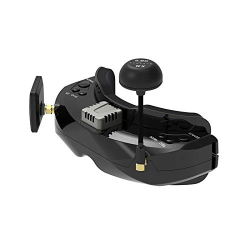 Skyzone SKY02C 5.8G 48CH 3D True Diversity FPV Goggles with Head Tracker and Built-in Fan Support DVR HDMI for FPV Racing Drones