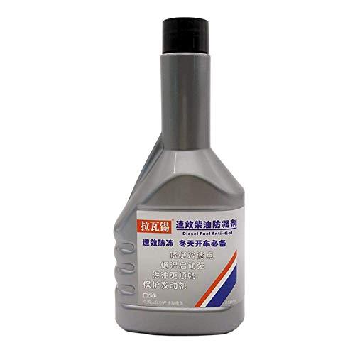 Iwinna Aditivo diésel – 250 ml anticongelante de combustible para protección del motor, prevención de depilación y mejora de la fluidez