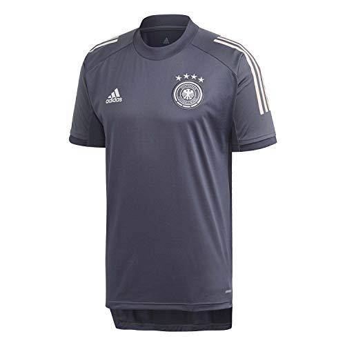 adidas Alemania Temporada 2020/21 Camiseta Entrenamiento, Unisex, Onix, XS