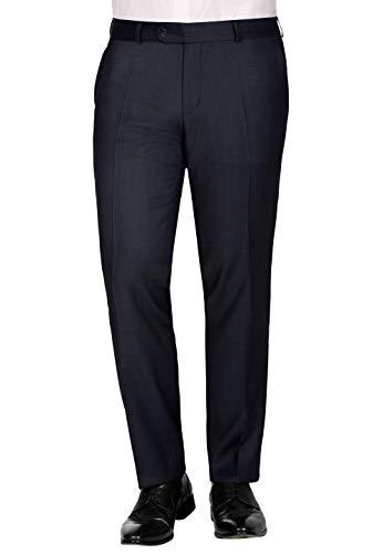 CARL GROSS Herren Anzug-Hose CG Sascha 50-042S0-63 blau,Größe 64