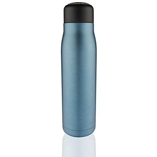 Pioneer Botella de acero inoxidable con aislamiento al vacío
