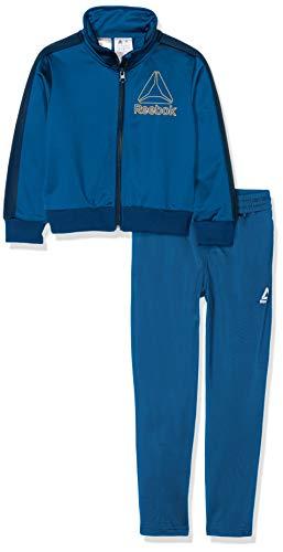 Reebok B Wor Tric Ts Trainingsanzug Kinder XXL Blau (Bunker Blue)