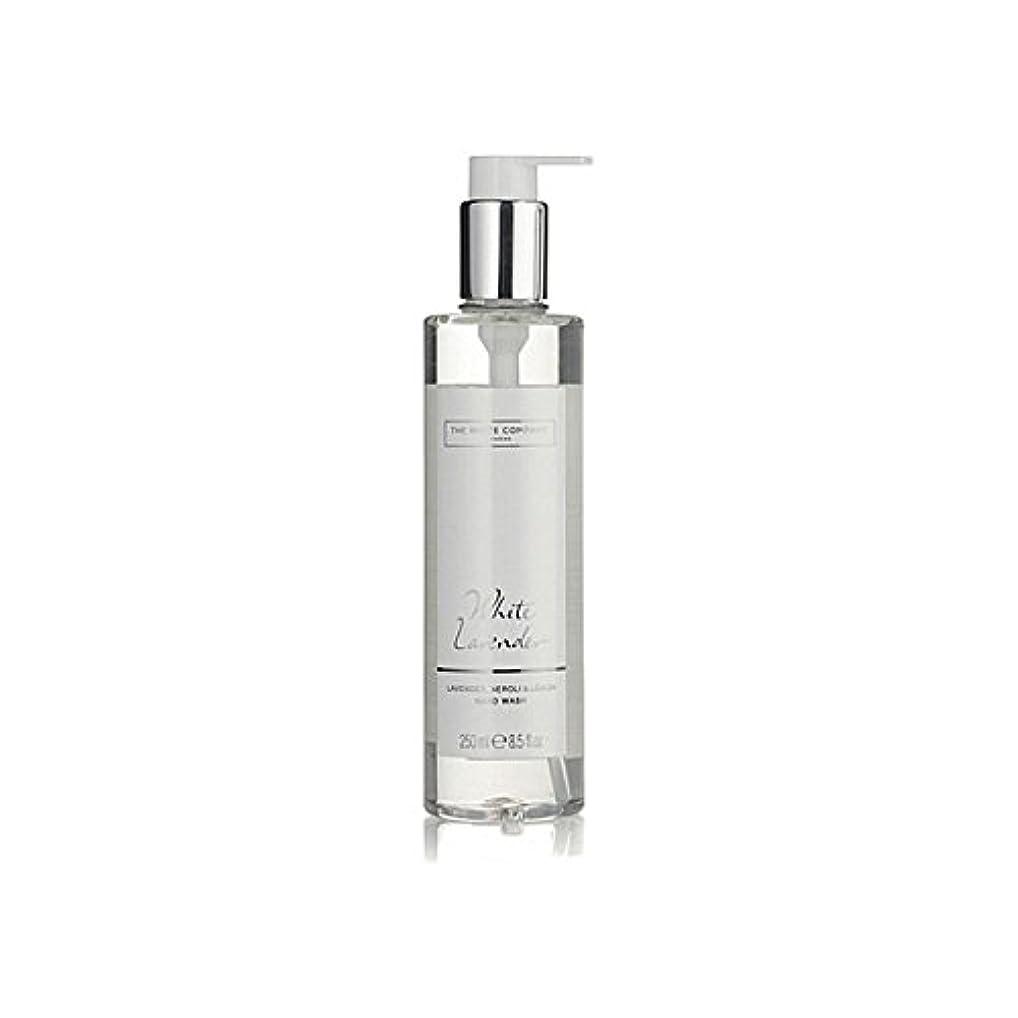 管理紛争キルスThe White Company White Lavender Hand Wash (Pack of 6) - 白同社白ラベンダーハンドウォッシュ x6 [並行輸入品]