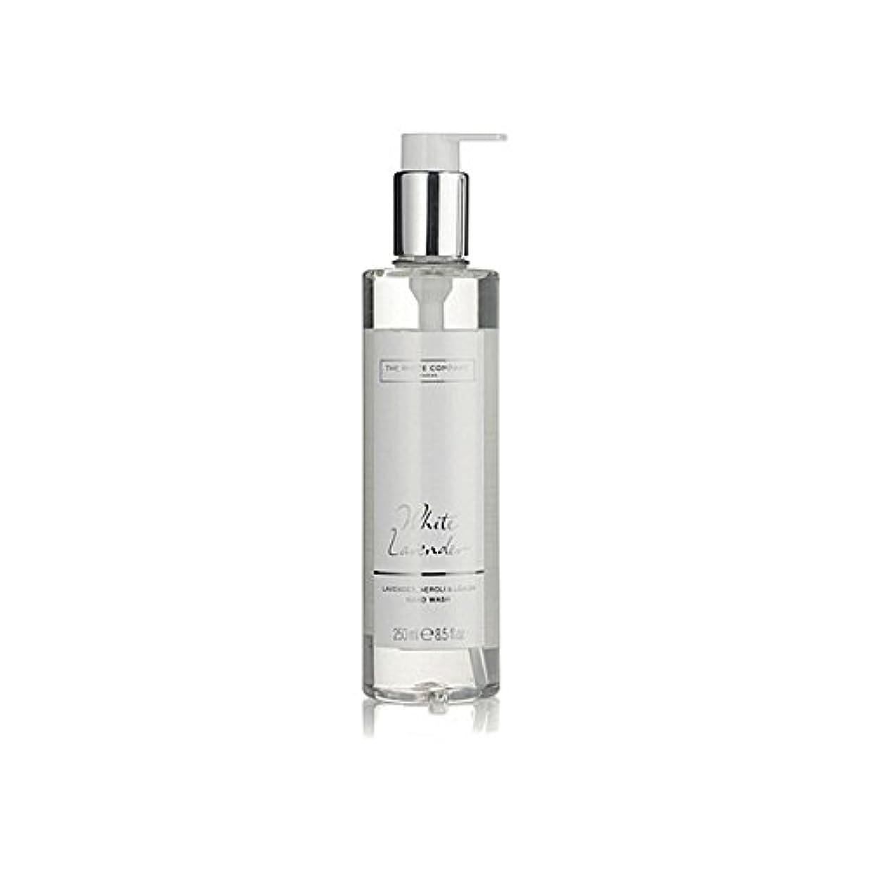 アシスト失敗防止白同社白ラベンダーハンドウォッシュ x2 - The White Company White Lavender Hand Wash (Pack of 2) [並行輸入品]