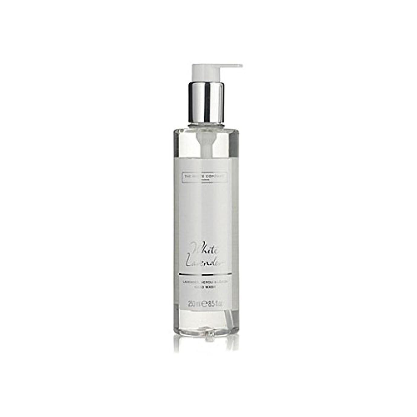 クール商業の全能The White Company White Lavender Hand Wash (Pack of 6) - 白同社白ラベンダーハンドウォッシュ x6 [並行輸入品]