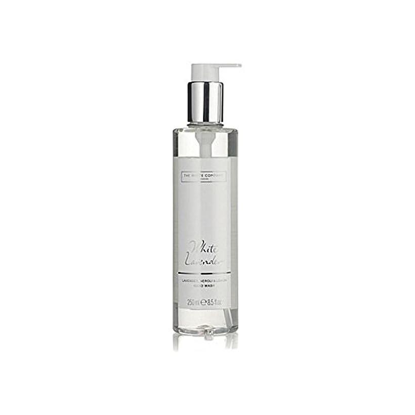 菊上下するお酒The White Company White Lavender Hand Wash (Pack of 6) - 白同社白ラベンダーハンドウォッシュ x6 [並行輸入品]