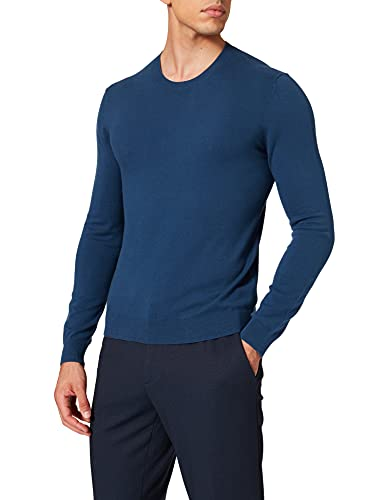Sisley Sweater L/S 10F2S1C78 Felpa, 355, L Uomo