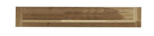 Trendteam Canyon, wandrek, boekenrek, 137 x 23 x 20 cm, in oud eiken decor met legplank