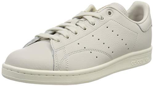 adidas Stan Smith W, Zapatillas de Gimnasia Mujer, Blanco (Raw White/Collegiate Burgundy/Periwinkle Raw White/Collegiate Burgundy/Periwinkle), 38 EU