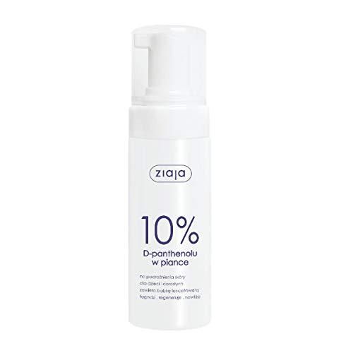 Ziaja - Mousse de D-Panthénol - 10 % - Peau irritée - Apaise hydratante - 150 ml