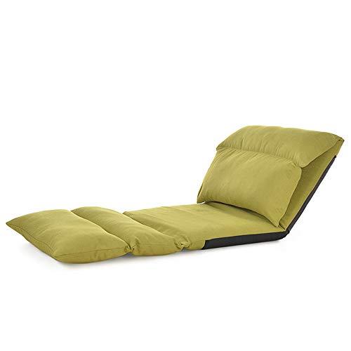 AiHerb.LO JL HX Canapé Paresseux en Tissu De Style Japonais Simple Tatami Pliant Loisirs Fenêtre Flottante Chaise Lit Chaise A+ (Couleur : E)