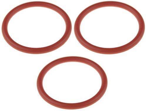 Juego de 3 juntas tóricas de 32 x 4 mm para cafeteras automáticas Saeco Unidad de preparación / Grupo de preparación / pistón de prensa, diámetro interior: 32 mm, grosor: 4 mm, diámetro exterior: 40 mm