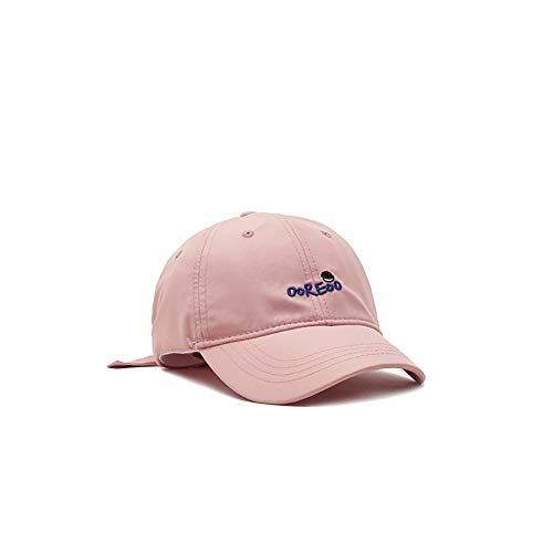 ZZYJYALG Sombreros para hombres 100% algodón letra bordado curvado tanto sol sombrero béisbol gorra polo estilo clásico deportes casual llano sol sombrero, tapa ajustable de color sólido, liviano tran