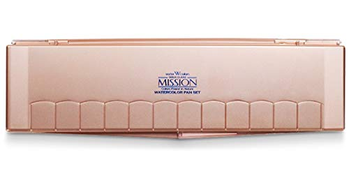 Mijello Mission Gold Watercolor Set, 24 Colors, 1 Set (MPW2024), Assorted