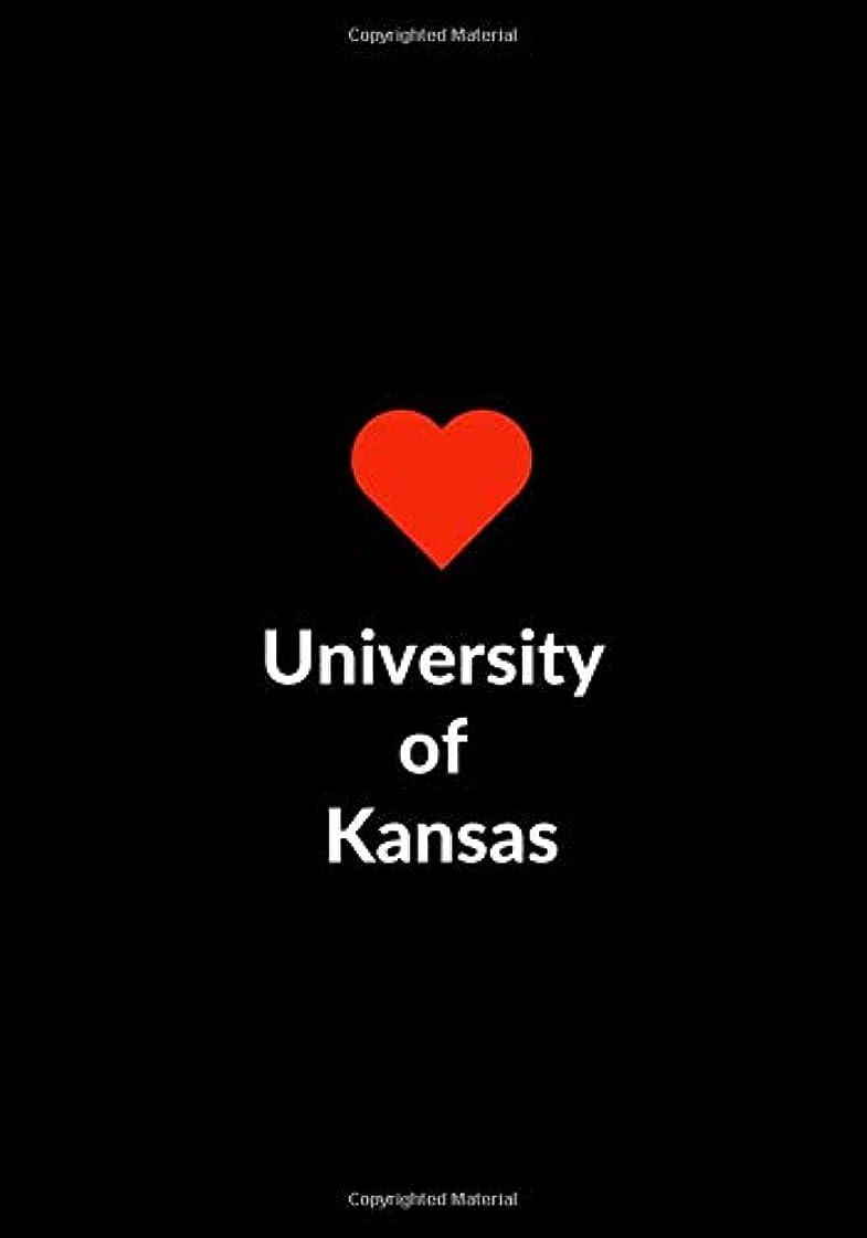 一時的笑高潔なUniversity of Kansas: Blank Sketchbook to Draw Doodle or Sketch, Gift Notebook 7