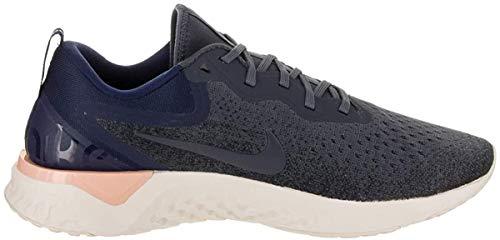 Nike Herren Odyssey React Laufschuhe Mehrfarbig (Thunder Blue Void/Dark Obsidian 403), 45 EU