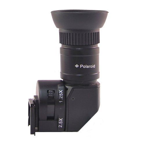 Polaroid Winkelsucher für Canon EOS, Nikon, Olympus, Panasonic, Sony, Pentax SLR Kameras
