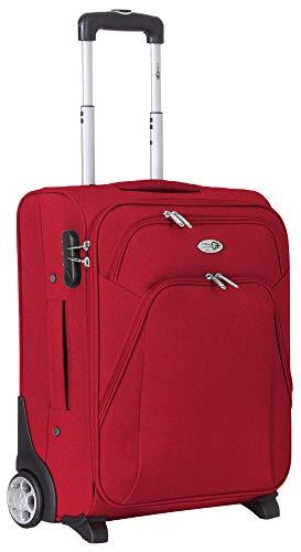 CABIN 5620 Maleta con ruedas blandas, equipaje de mano, 55 x 40 x 20 cm, con 2 ruedas grandes y cierre TSA, gran maleta espaciosa y resistente, ideal para Ryanair y Easyjet