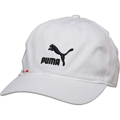 PUMA Gorra para Hombre Logo BB Blanco/Negro Talla única
