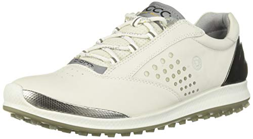 ECCO Women's Biom Hybrid 2 Hydromax Golf Shoe, White Yak Leather, 42 M EU (11-11.5 US)