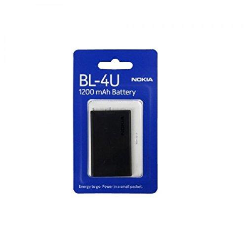 Nokia BL-4U 3120Classic 5008800Arte E75Asha 300308309C5–0352505330NUOVA Batteria Accu Battrie OVP.