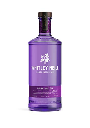 Whitley Neill Hand Crafted Parma Violet Gin 43% Abv 70Cl