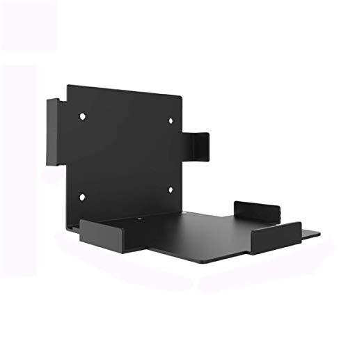 Soporte de montaje en pared para consola Xbox Series X, soporte antideslizante para juegos de estante de almacenamiento de bricolaje con 1 destornillador 4 tornillos de expansión 7 tornillos 3 tuercas
