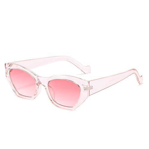 Gafas De Sol Gafas De Sol Cuadradas Pequeñas para Mujer, Gafas De Sol con Montura De Pc De Diseñador De Lujo, Gafas De Moda Vintage, Gafas Retro 8