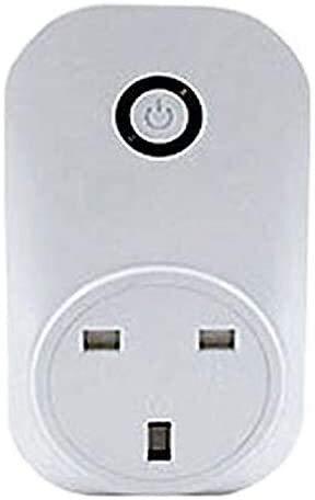 DAGCOT Élimination des déchets sans fil Kit Switch élimination rape Switch - No de forage sur rape - Pas de câblage-Stick sur rape/comptoir for déchets éliminateur, Royaume-Uni (Size : UK)