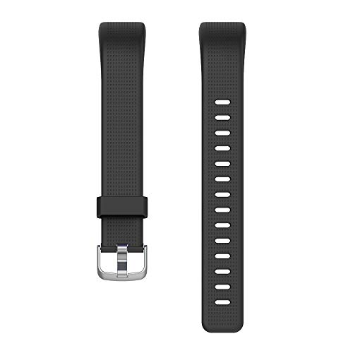 Willful SW352 Correa de Repuesto Pulsera de Actividad ID130Plus Color HR (Negro)