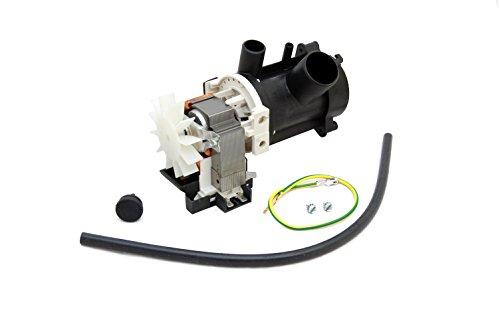 Bauknecht Waschmaschine Pumpe ablassen. Original-Teilenummer 481936018189 C00314221