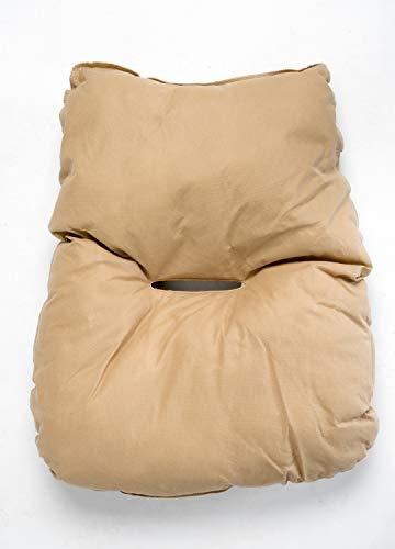 AMAZONAS Hängesessel in edlem Design Globo Chair Natura aus FSC Fichtenholz bis 120 kg in Weiß - 5