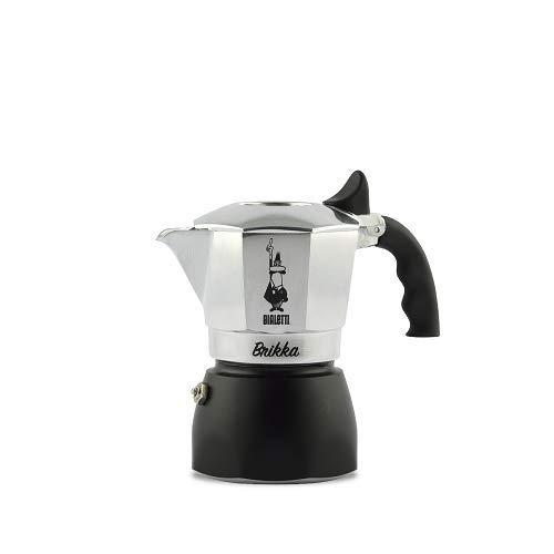 Bialetti Espressomaschine 2-Cup silber