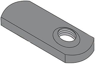 3//8-16 Multi Projection Tab Weld Nut Plain Box Quantity 1000 by Korpek.com BC-37NWP2