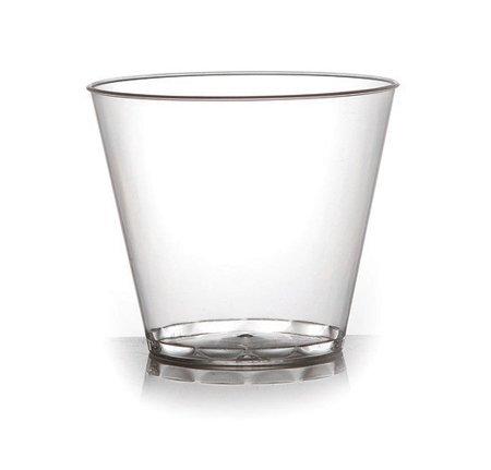 Eleganti bicchieri o coppe per dessert in plastica trasparente rigida, usa e gettaeriutilizzabili,142 ml, confezione da60pezzi