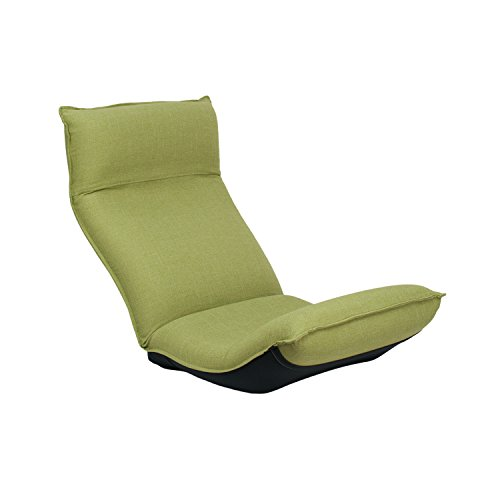 座椅子 産学連携 リラックス座椅子 CBC313 グリーン 日本製 ymz-093