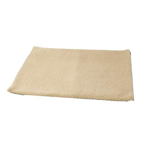 Cama con almohadilla para dormir para mascotas Exquisita manta de felpa para gatos, cálida y suave, cama de lujo para gatos Para perros y gatos, tapete para mascotas con calentamiento automático, acog
