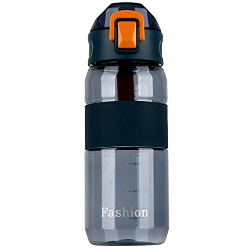 Jituan Taza de agua para fitness, botella de agua para estudiantes y estudiantes, deportes, copa espacial para adultos, al aire libre, conveniente, gran capacidad para deportes, taza de agua (650 ml)